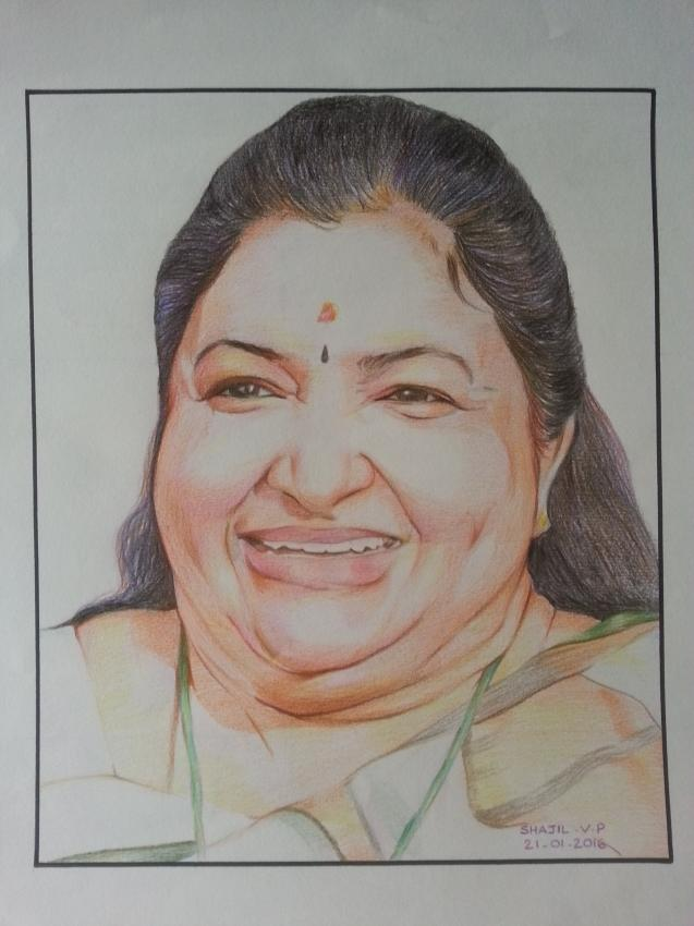 K. S. Chithra by shajil.v.p